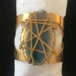 a.v. max agate cuff bracelet
